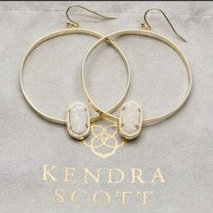 Kendra Scott Elora Gold Iridescent Earrings